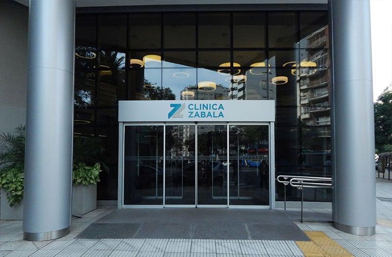 Clínicas en Buenos Aires donde opera el Dr. Alejandro Silvestre - Clínica Zabala